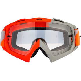 O'Neal B-10 Goggles, twoface-orange/gray-clear